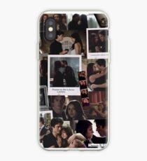 Damon and Elena - The Vampire Diaries iPhone Case