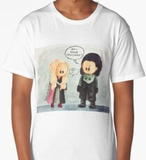 Jonerys Snowstorm Am I Your Prisoner? Long T-Shirt