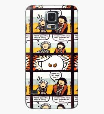 Jonerys Snowstorm Comic Strip Case/Skin for Samsung Galaxy