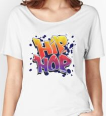 HIP HOP in colour Women's Relaxed Fit T-Shirt