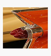 1959 Cadillac Convertible Tail Fin Photographic Print