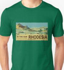rhodesia vintage poster Unisex T-Shirt