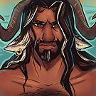 Handsome Fantasy Satyr Man Saif by mythprince