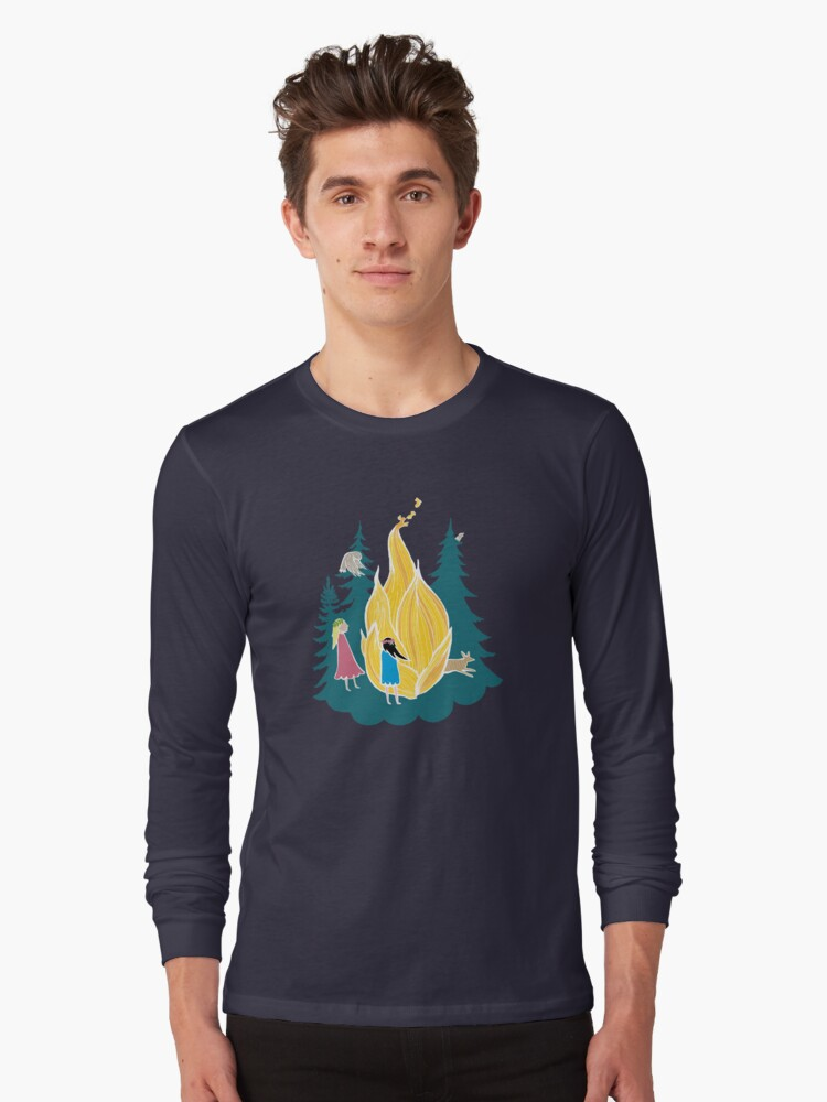 Midsummer bonfire Long Sleeve T-Shirt Front