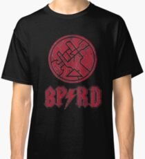BPRD Rock Band (Red Stone) Classic T-Shirt