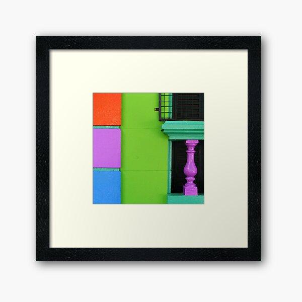 Virtual sex symbol Framed Art Print