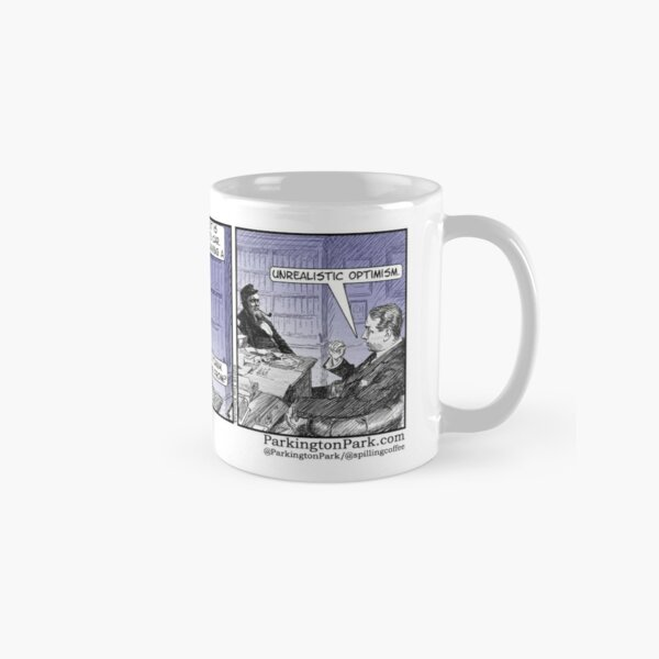 Red Sports Car Disease Comic Classic Mug