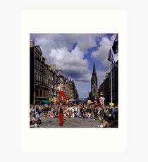Edinburgh Festival Art Print