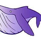 Cutie Humpback Whale by tobiejade