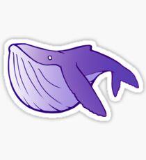 Cutie Humpback Whale Sticker
