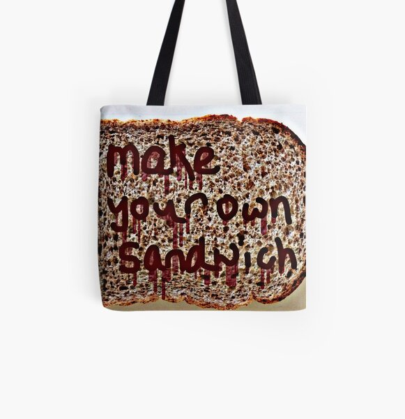 Make Your Own Sandwich  All Over Print Tote Bag