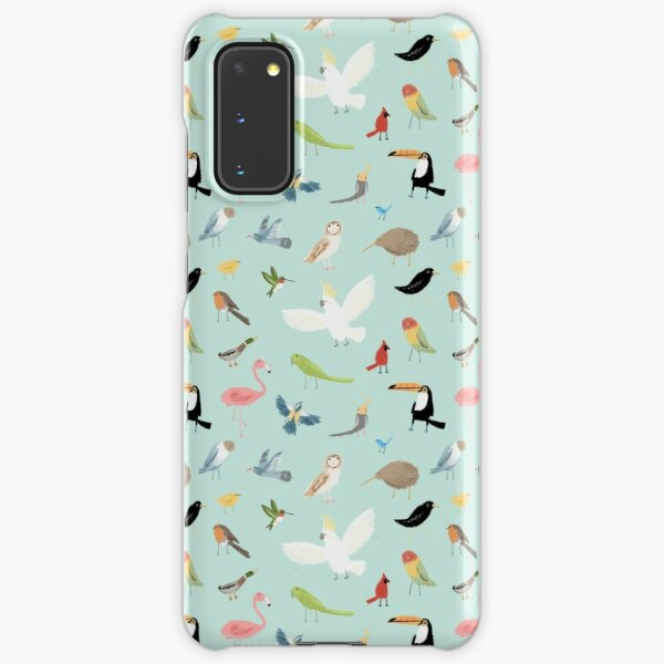 Bird Pattern Samsung Galaxy Snap Case