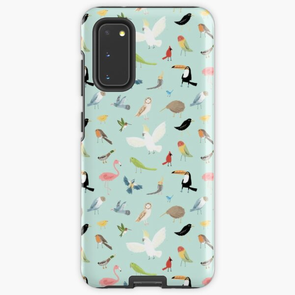 Bird Pattern Samsung Galaxy Tough Case