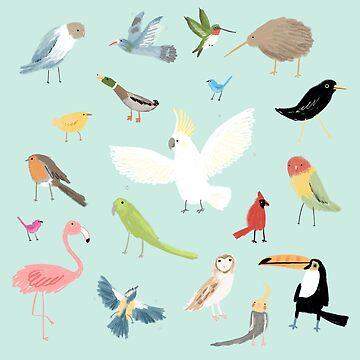 Bird Pattern by SophieCorrigan