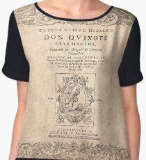 Cervantes, Don Quijote de la Mancha 1605 Blusa