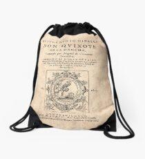 Cervantes, Don Quijote de la Mancha 1605 Mochila de cuerdas