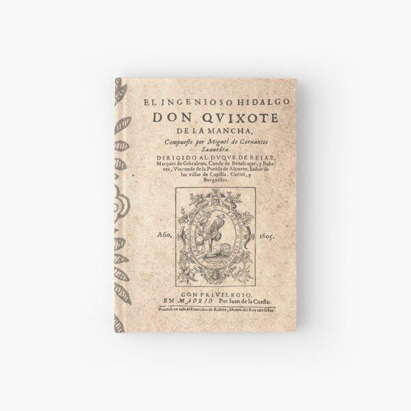 Cervantes, Don Quijote de la Mancha 1605 Cuaderno de tapa dura