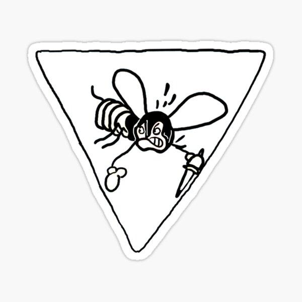 """Seconda Squadriglia """"Vespa Arrabbiata"""" Sticker"""
