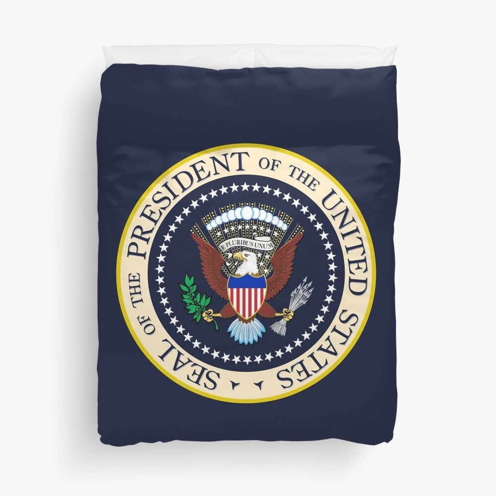 Seal of the President of the United States Duvet Cover