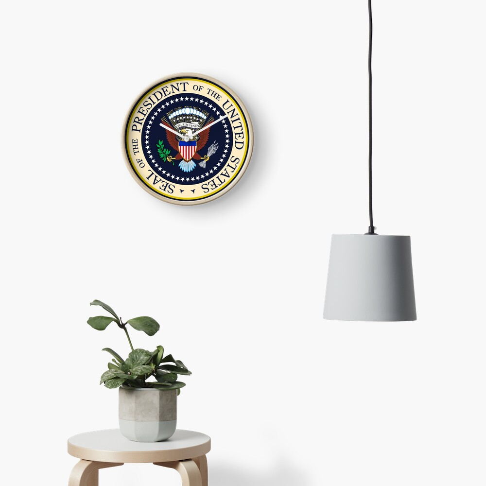 Seal of the President of the United States Clock