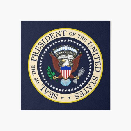 Seal of the President of the United States Art Board Print