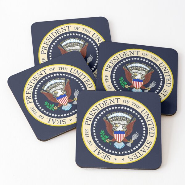 Seal of the President of the United States Coasters (Set of 4)