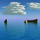 Boat and Sea by dmark3