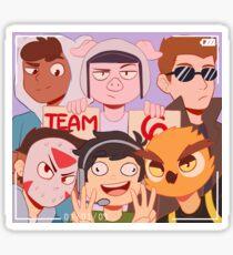 Team 6 Sticker