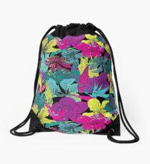 Mochila saco Summernight / estampado floral