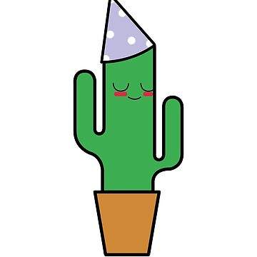 Cute Cactus Party by BaileyChapman