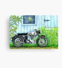 Norton ES2 Motorcycle Canvas Print