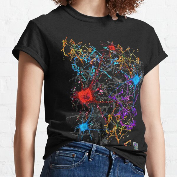 """Neurons 1""© Classic T-Shirt"