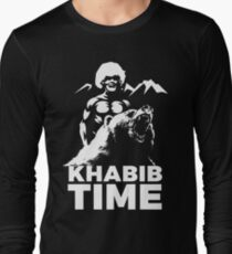 KHABIB TIME Long Sleeve T-Shirt