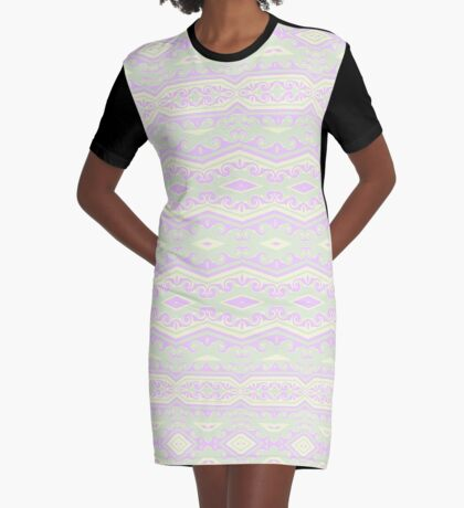 Softly Shaped Graphic T-Shirt Dress