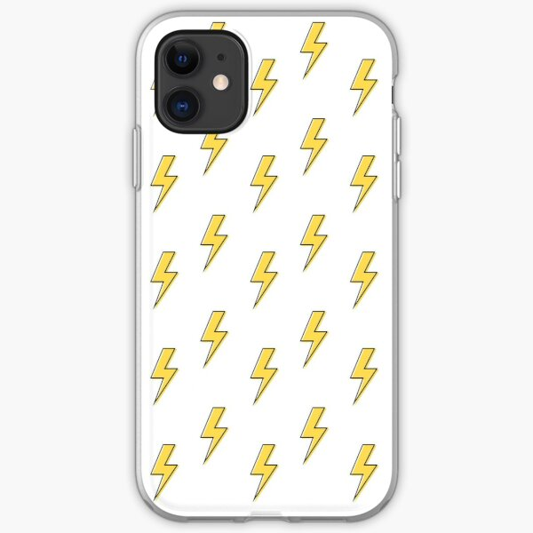 Yellow Flash Pattern iPhone Soft Case