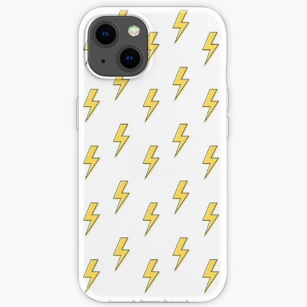 Yellow Flash Pattern iPhone Soft Case