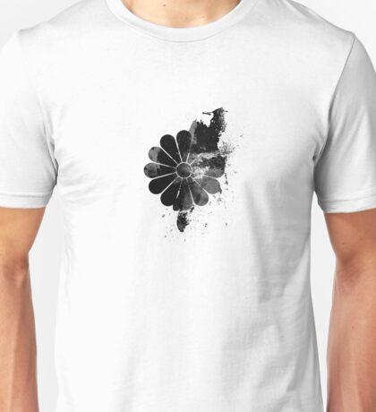 Inked Chrysanthemum Crest T-Shirt
