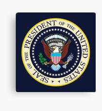 Seal of the President of the United States Canvas Print