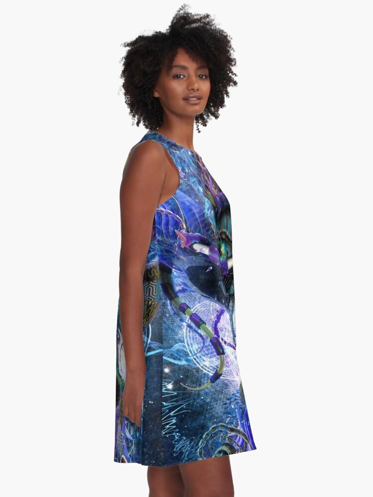 Alternate view of Copelandian Paradigm A-Line Dress