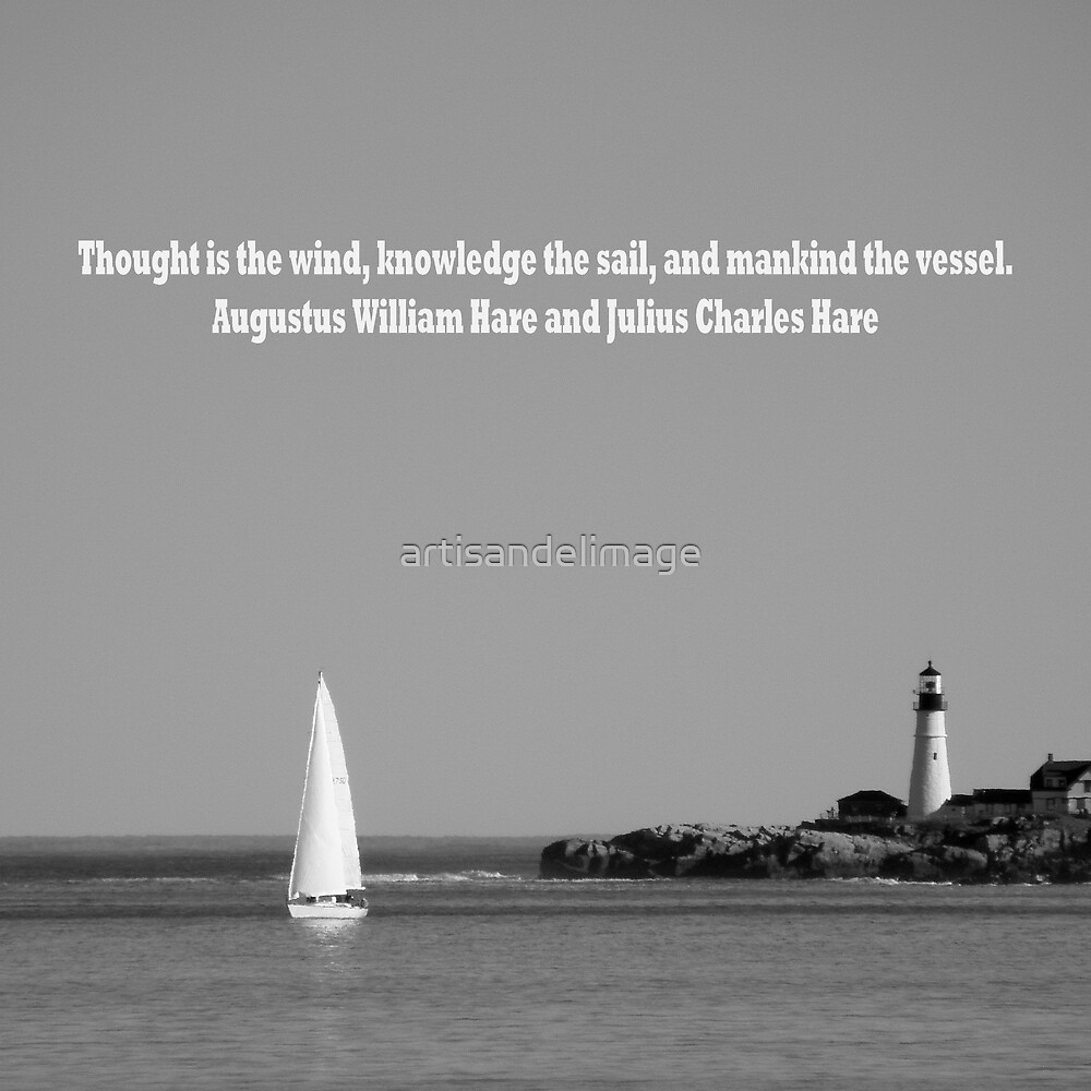 The Wind, The Sail And The Vessel by artisandelimage