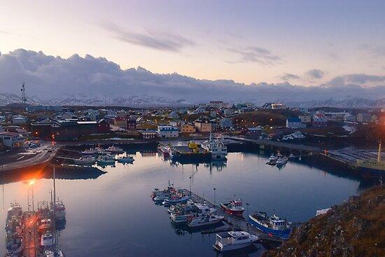 Stykkisholmshafnar, Stykkisholmur, Snaefellsnes, Iceland by Mike Kunes