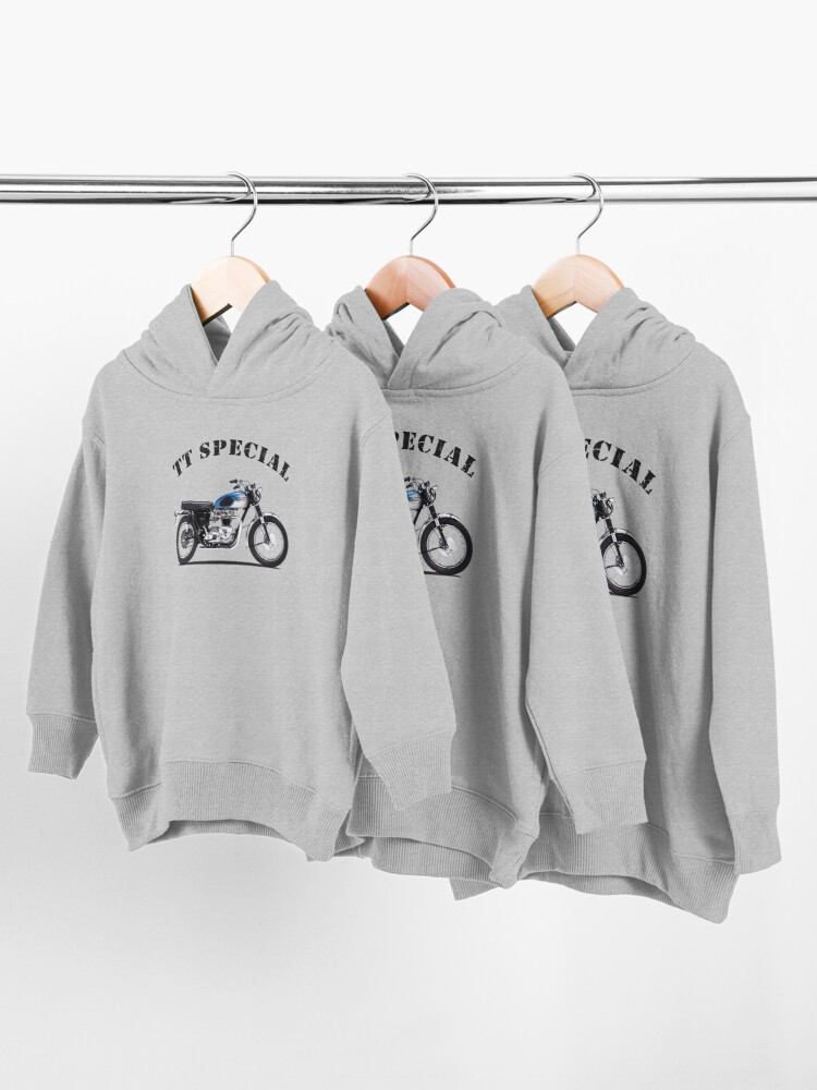 Alternate view of The TT Special 1965 Toddler Pullover Hoodie