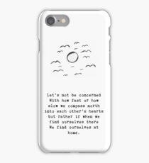 Pace iPhone Case/Skin