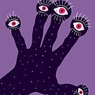 Weird Hand With Watching Eyes by Boriana Giormova