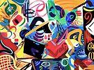 Abstract Interior #28 by Lisa V Robinson