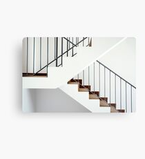 Flight of stairs in a new house Metal Print