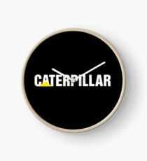 Caterpillar, Diesel Logo, Genuine Clock
