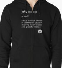 Jelly Definition T-Shirt Zipped Hoodie