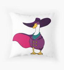 Shady Duck Hero Throw Pillow