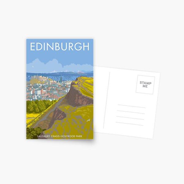 Endinburgh, Salisbury Crags Postcard
